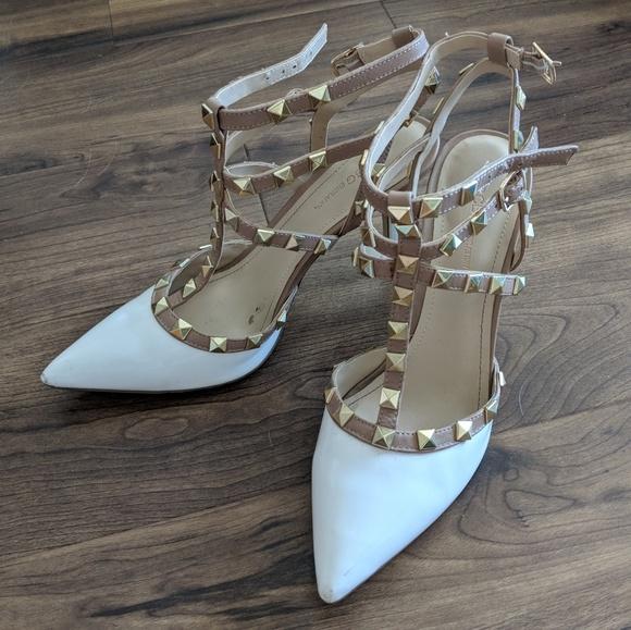 b311b62734 BCBGeneration Shoes | Bcbg Darron Studded Heel | Poshmark